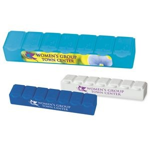 BIC Graphic® 7 Day Strip Pill Box