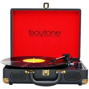 Boytone Bluetooth Mobile Briefcase Turntable